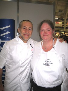 Me and Michel Roux