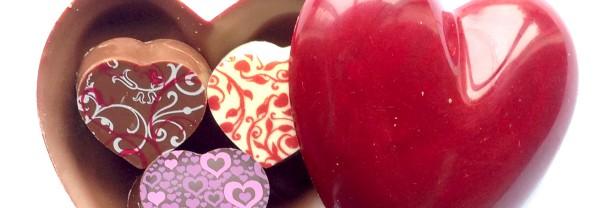 Valentines heart box