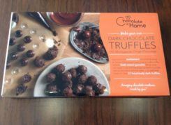 dark chocolate truffle kit