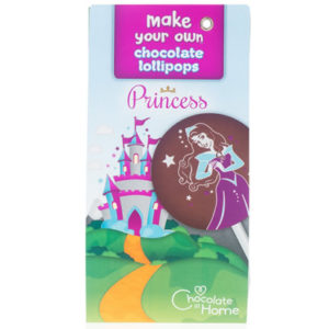 princess chocolate lollipop